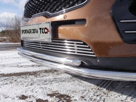 Kia Sportage 2016 - Решетка радиатора 12 мм